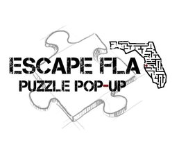 Escape room puzzle pop up